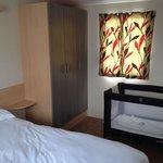Main bedroom In a gold plus caravan