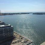 Great view of Lake Ontario