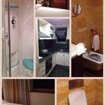 Baño, cocina y dormitorio individual