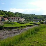 Sandsend village