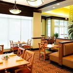 Relax and enjoy a meal in the dining area