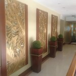 hallway to the suites