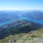 Vue à 360° sur le lac de Serre-Ponçon
