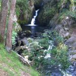 waterfall a minutes walk away