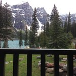 View from our room in the Lodge
