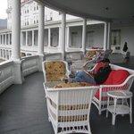 'tails on the verandah