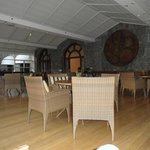 Sala de Cristal, uma das maravilhosas salas de estar do hotel.