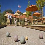 Guests enjoy a game of Bocce Ball