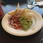 Mexican Restaurant Chips and FRESH salsa/Guacamole! DEEELISH!