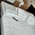 As três camas do quarto imenso