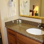 Guest Bathroom with Newly Installed Granite