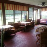 Enjoy breakfast in the wrap-around verandah