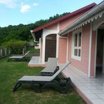 Petite terrasse des bungalows