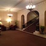 Elegant old-world lobby