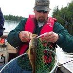 Bass fishing.