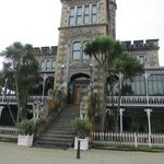 Front of Larnach Castle