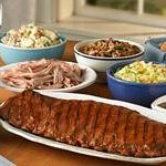 .  Everyone will love Red Hot & Blue Take-Out for your family night meal