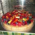 family-size fruit tart for purchase to take home