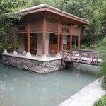 Shigar Fort the garden side