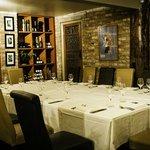 Our private dine in cellar