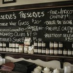 Reserve's Preserves, our food products, some from the menu others a reflection of the season