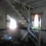 acceso a la segunda  planta  Casa Museo
