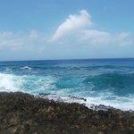 El mar  del   Hoyo  Soplador !!