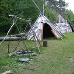 Grand Portage Fort Reenactment site