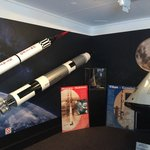Rocket & capsule display