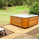 Private outdoor spas