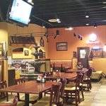Inside atmosphere at Plaza Morena Campestre Grill in Owatonna, Minnesota.
