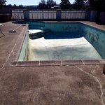 Middle of July over 90+ degrees and this is the pool!