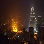 Twin Towers from KL Tower.