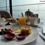 Breakfast time with an amazing view