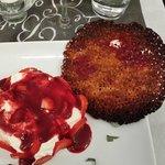 Croustillant fruits rouges mascarpone