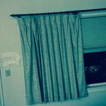 front window curtain
