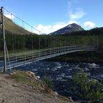 Bridge to AbiskoJaure