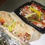 Our Burritos and Bowls