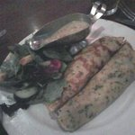 Chicken Crepes with dijon mustard sauce - quite tasty!