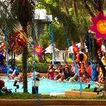Indian wedding - dancing in the pool - Pattaya