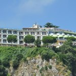 Hotel as seen from Sorrento