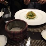 my friend said this crab dish is the most delicious and innovative appetiser he has ever tasted!