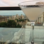 London Calling martini and the skyline