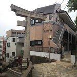 13.11.09【山王神社二の鳥居】神社側から見た鳥居