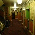 Hotel's corridors.