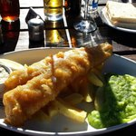 'Small' cod and chips!