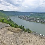 View of the rhine from castle