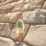 Closeup of Pyramid of Giza