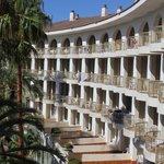 hotel from balcony