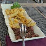 Steak frites pour enfants